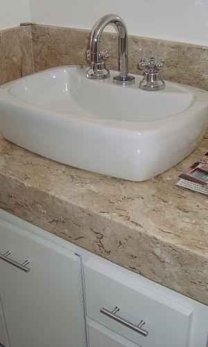Bancada de marmore para banheiro