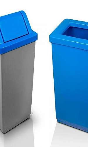 Cesto de Lixo de Plástico