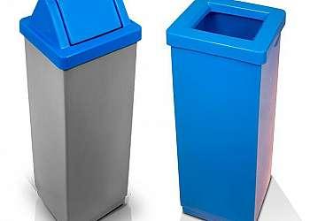 Cesto de lixo plastico