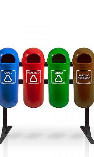 Cesto de Lixo Reciclável Preço