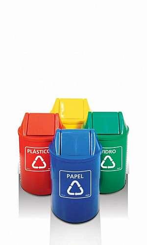 Cesto de Lixo Reciclável