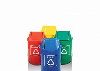 Container lixo reciclável