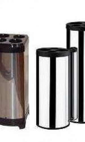 Coletor para copos descartáveis