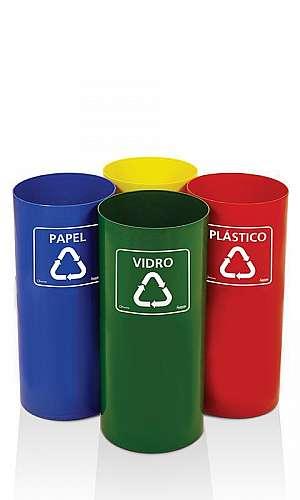 Coletores de Lixo Reciclável