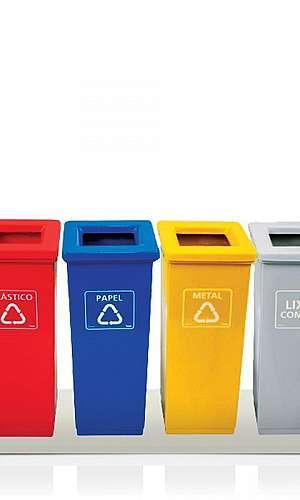 Coletores de Lixo Seletivo