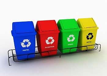 Container de lixo para coleta seletiva