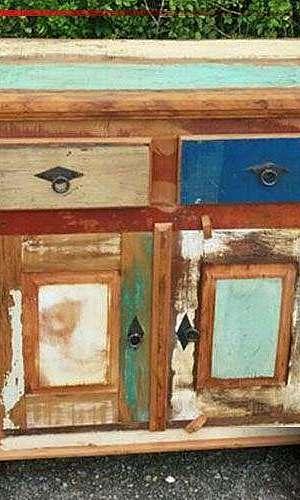 Comodas de madeira rústica