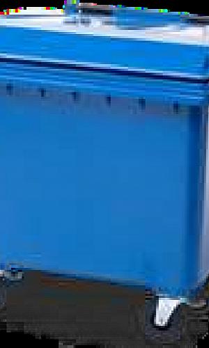 Container de plástico em Brasília