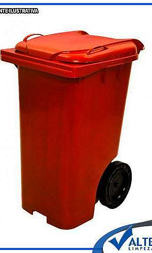 contentor de lixo 120 litros