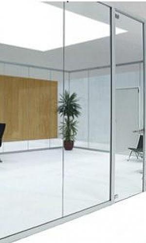 Divisória de vidro para escritório SP