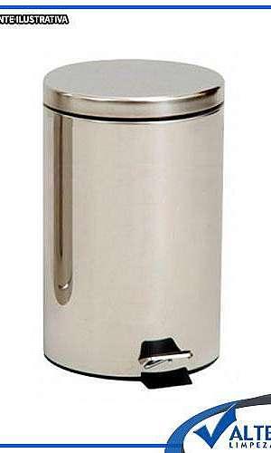 Lixeira inox 20 litros