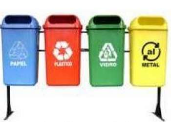 Lixeira para reciclagem Cidade Ademar