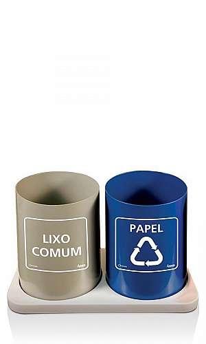 Lixeiras para Coleta Seletiva de Lixo