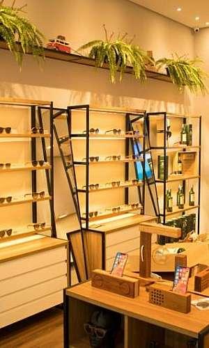 móveis planejados para loja de calçados