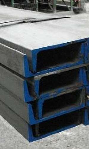 Perfil U de ferro galvanizado