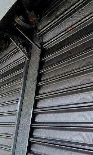 Porta de aço automática em sp