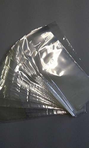 Preço de saco liso transparente